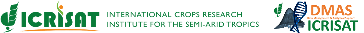 ICRISAT - Data Management and Analytical Support(DMAS)